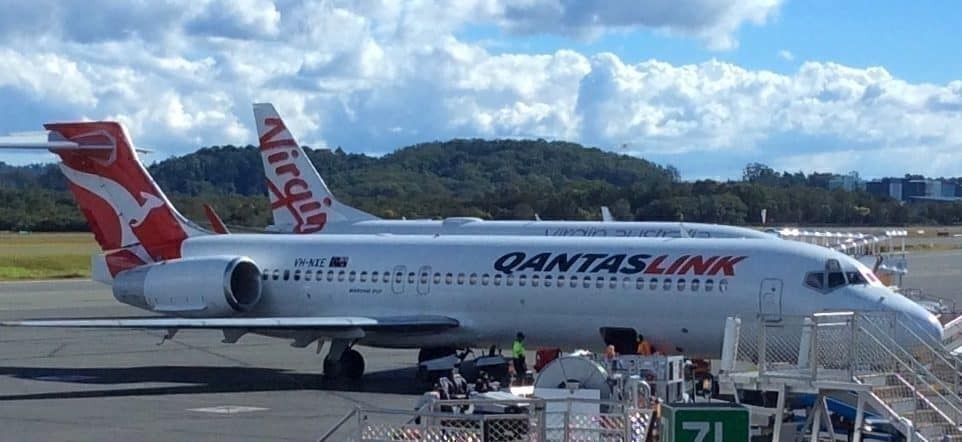qantas vs virgin australia