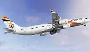 Air Belgium, A340, French Caribbean