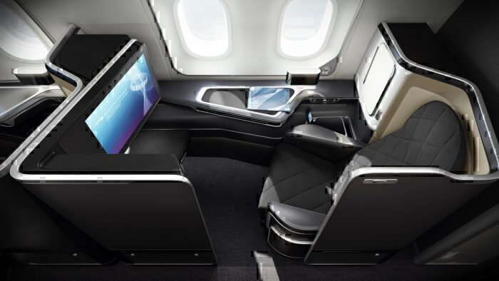 British Airways Club World New York Boeing 777
