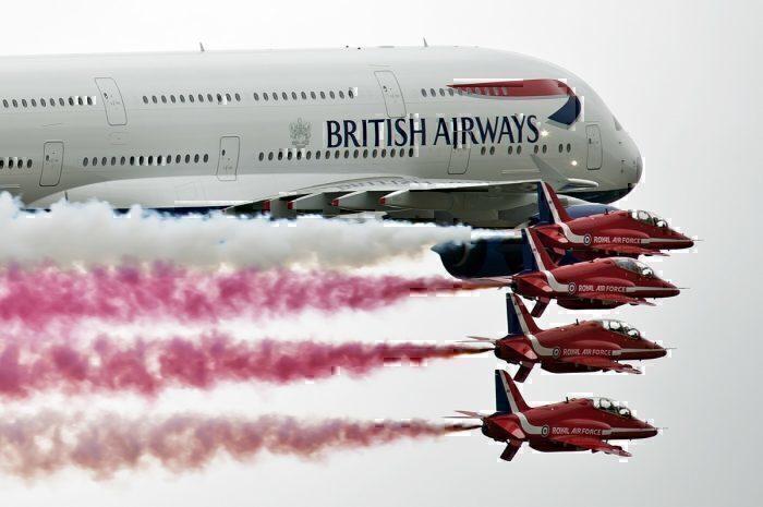 BOAC, Red Arrows, British Airways