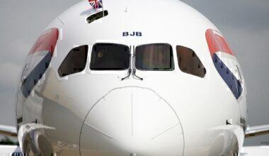 British Airways, Boeing 787, Portland