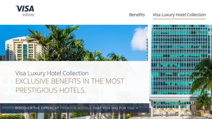 Visa Infinite Luxury Hotel Collection