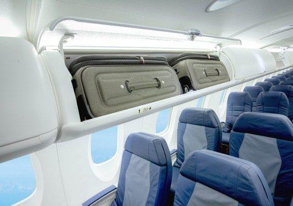 overhead bin CRJ550