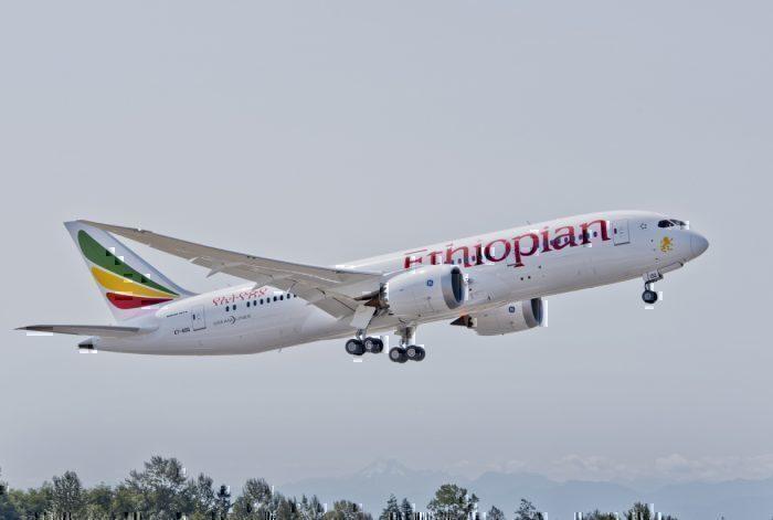 Ethiopian Airlines Boeing 787 Addis Ababa Milan Marseille