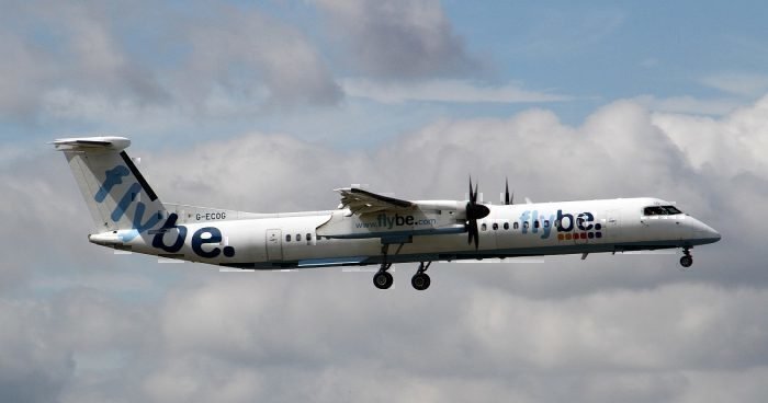 official photos d89d3 d8b49 FlyBe To Cut 23 Routes And Closes Two Bases - Simple Flying
