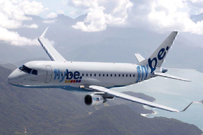 Flybe jet airborne
