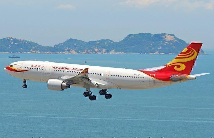 Hong Kong Airlines landing