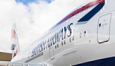 BA A380 close up