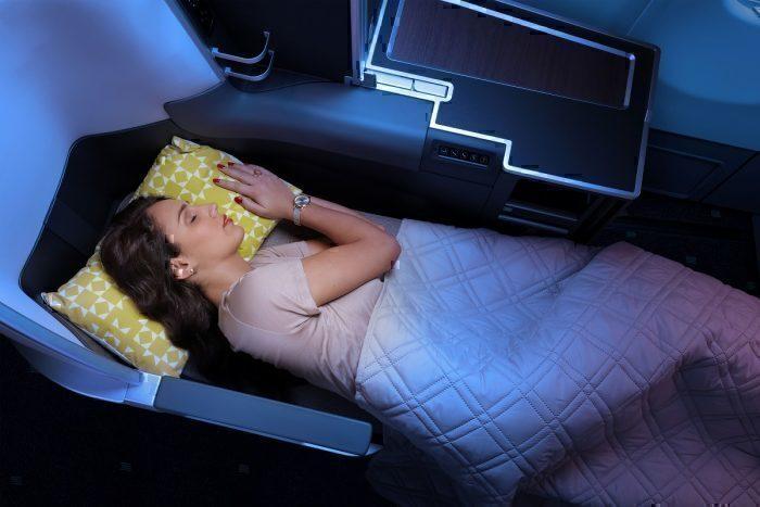 TAP airline interior