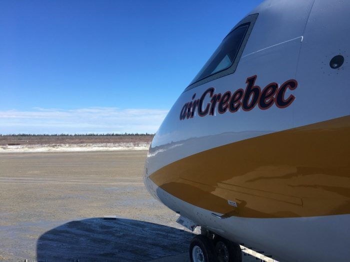 Air Creebec Fort Albany Kashechewan