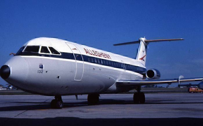 Allegheny Airlines BAC1-11