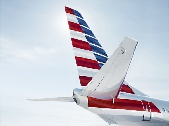 American Airlines tail fin