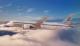 Zipair concept in flight