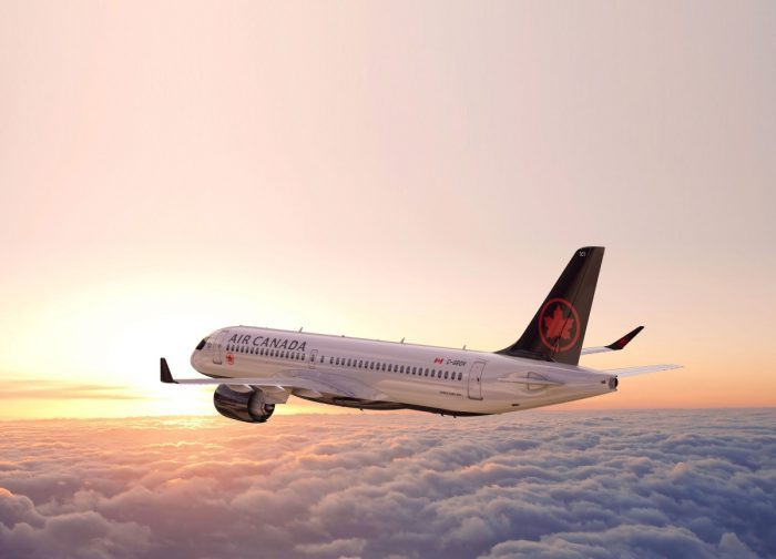 Air Canada, Montreal, Toulouse, Airbus