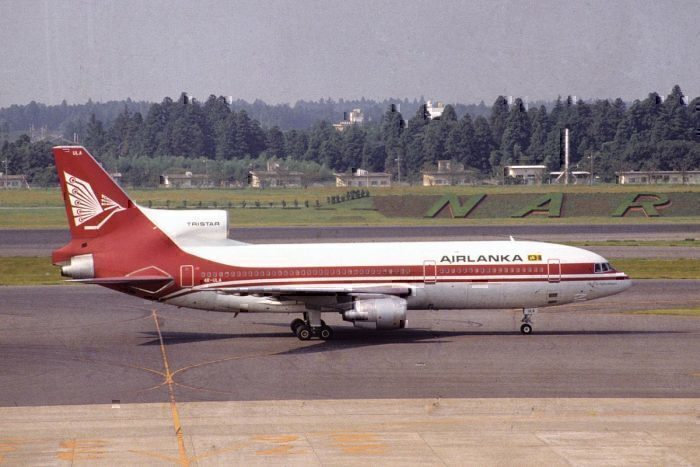 A Tristar from Air Lanka 4R-ULA