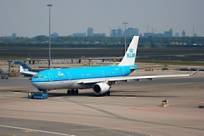 A then new KLM Airbus A330-203
