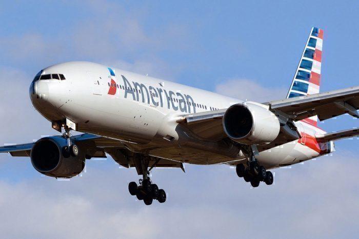 American Airlines, Boeing 777-200 N786AN NRT