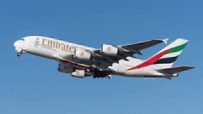 Emirates Airbus A380-861_A6-EER