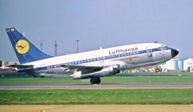 Lufthansa 737-100