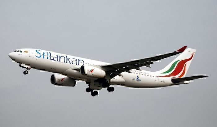 SriLankan A330 at LHR March 2011
