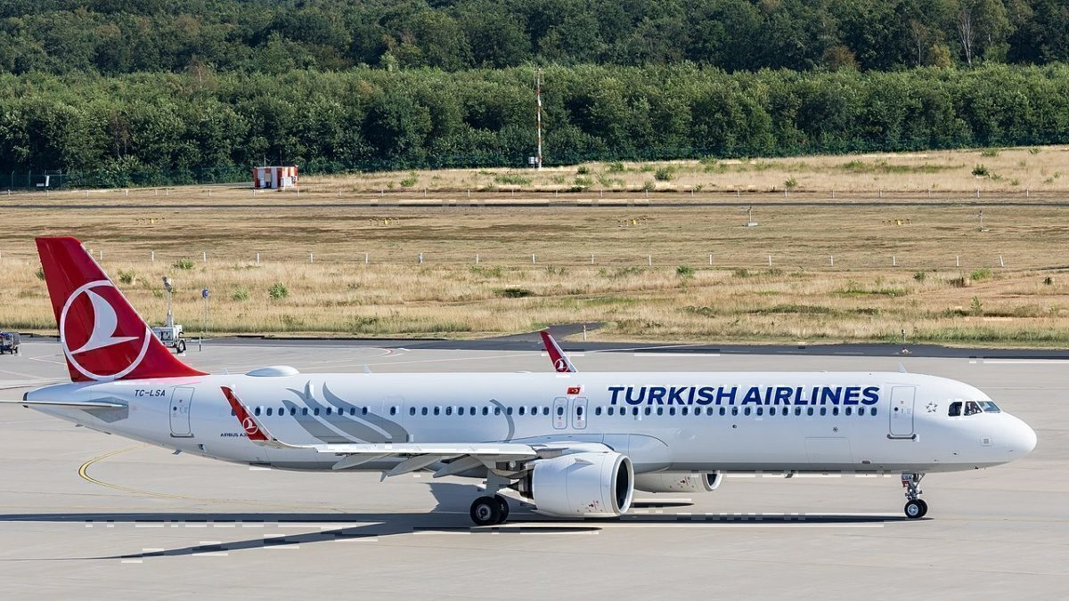 Turkish Airlines A321NEO ACF verion