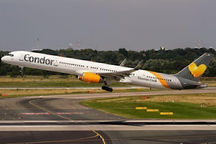 Munich Airport, Burst Tire, Boeing 757