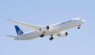 Untied Airlines, Boeing 787-10, Brussels