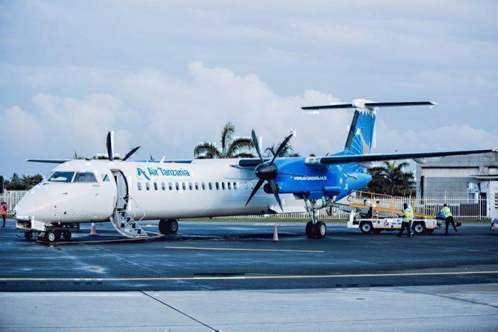 Air Tanzania turboprop