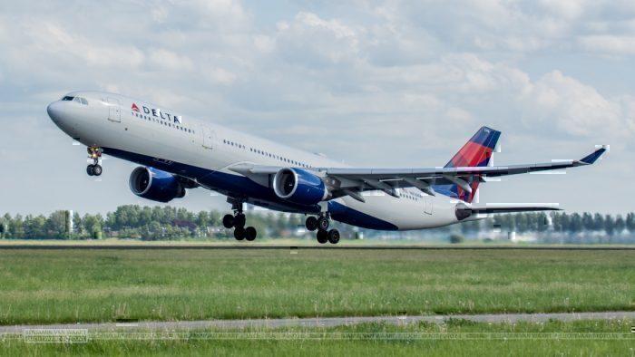 A Delta Airbus A330