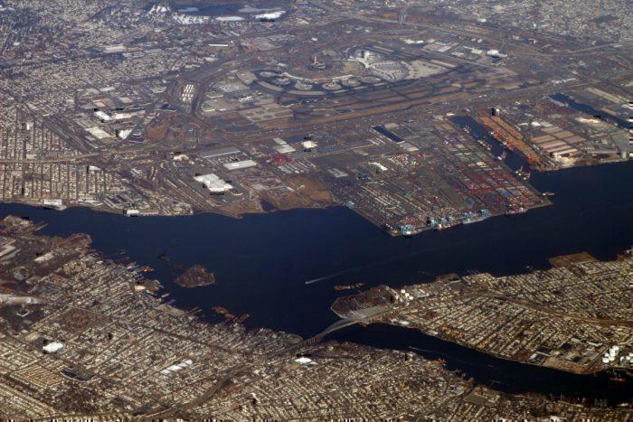 Newark Liberty International Airport from the air