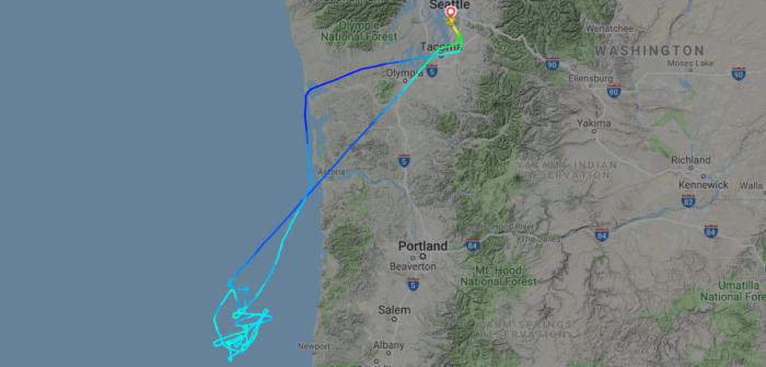 737 test flight