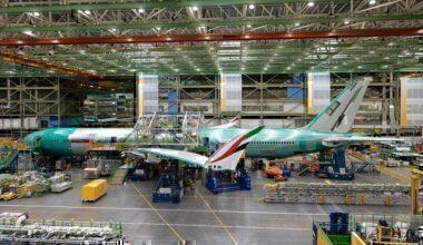 777X blown apart