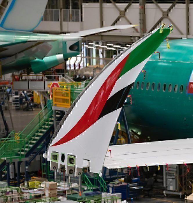 Boeing 777X emirates