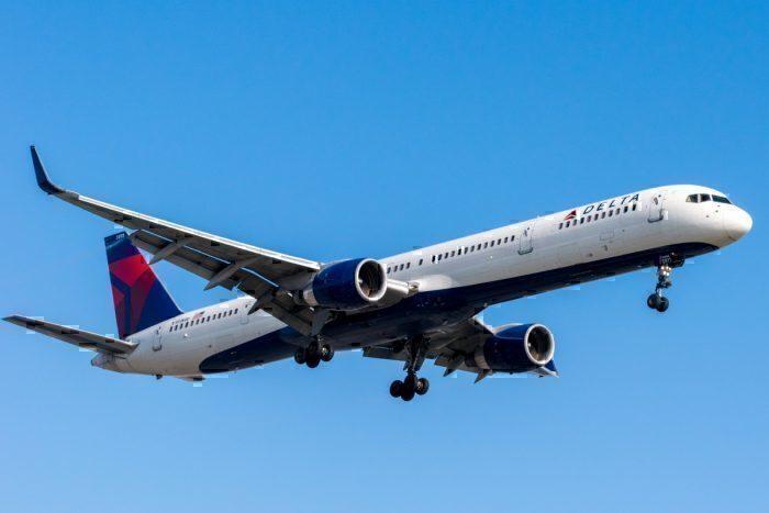 Delta Air Lines, Boeing 757, Ponta Delgada