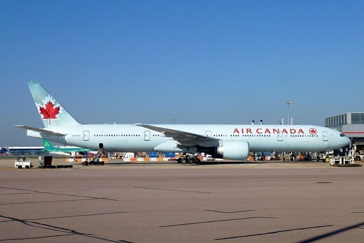C-FIVW First visit to LHR John Taggart