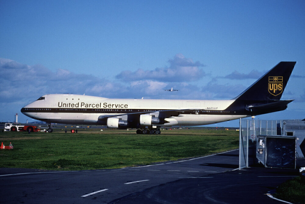 UPS Boeing 747 ex american airlines