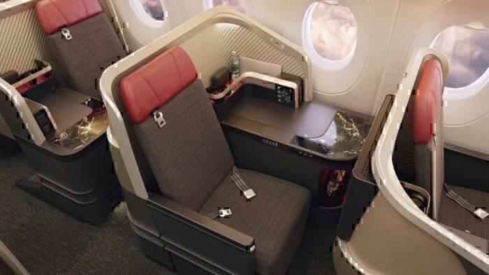 new business class seat LATAM