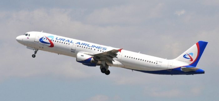 Ural Airlines Airbus A321 broke up