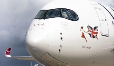 Virgin Atlantic A350 icon