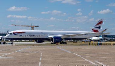BA464, Madrid Storms, British Airways, Diversion, Airbus A350, Barcelona