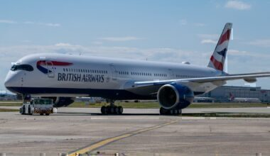 British Airways, London to Madrid, Airbus A350