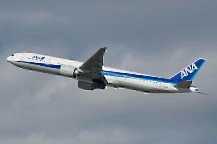 ANA Boeing 777 Frankfurt New York