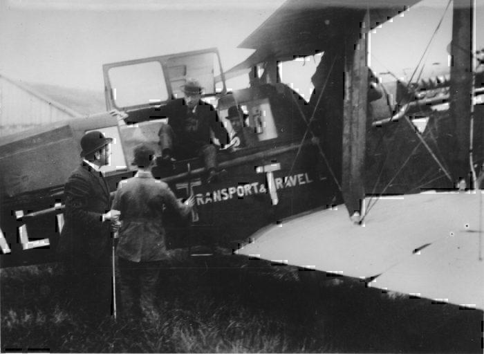 KLM first flight