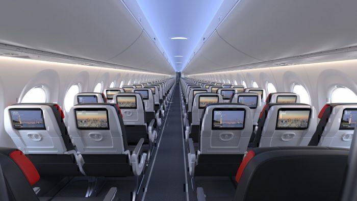 Air canada A220 interior