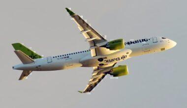 airBaltic Airbus A220 Riga