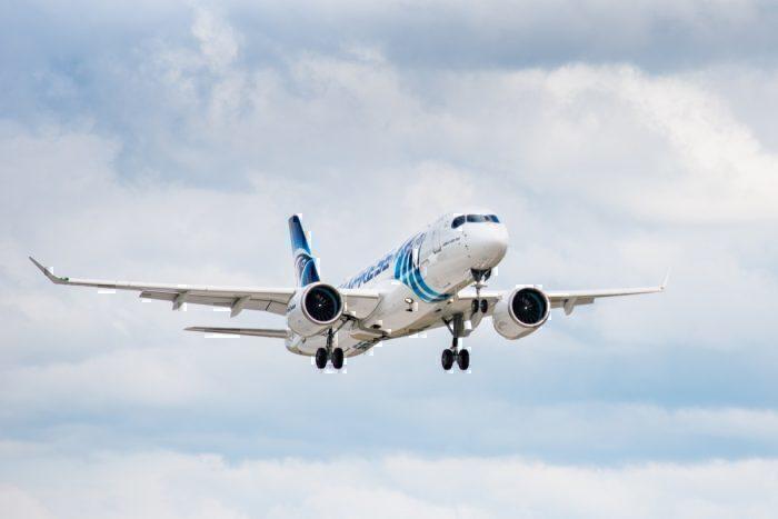 Airbus A220, EgyptAir, First A220