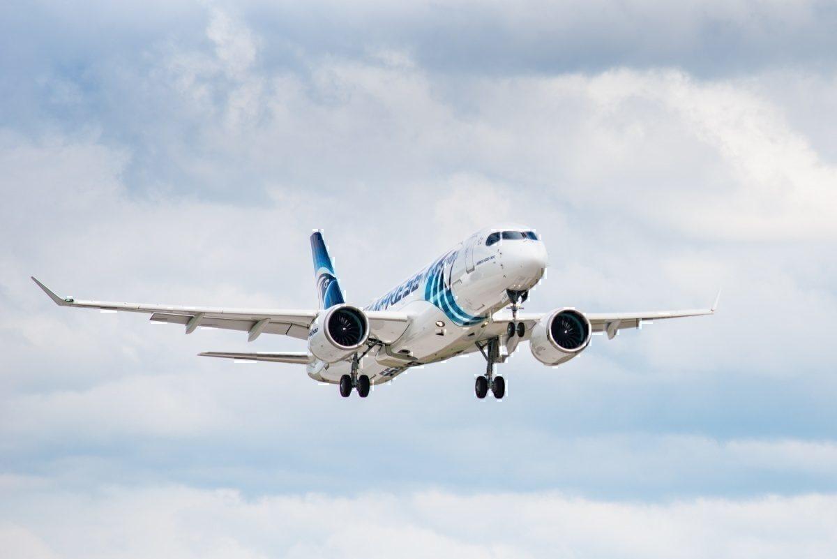 Resultado de imagen para Egyptair Airbus A220