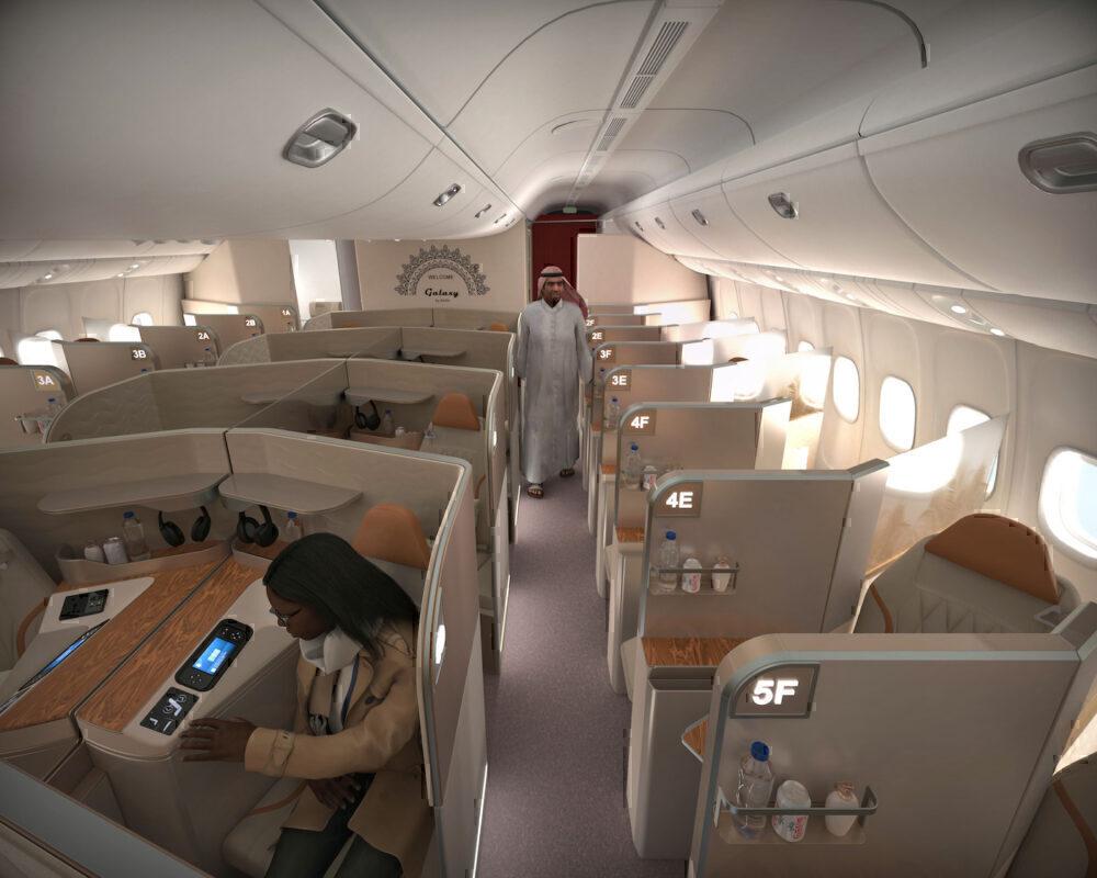 AirGo Galaxy Space saving business class