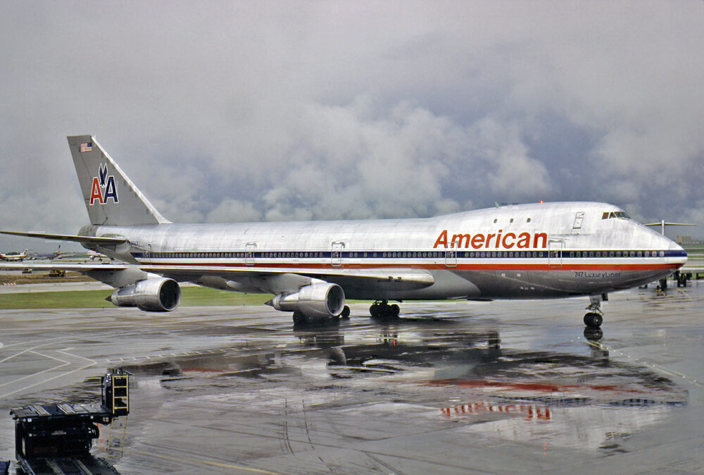 American Airlines 747