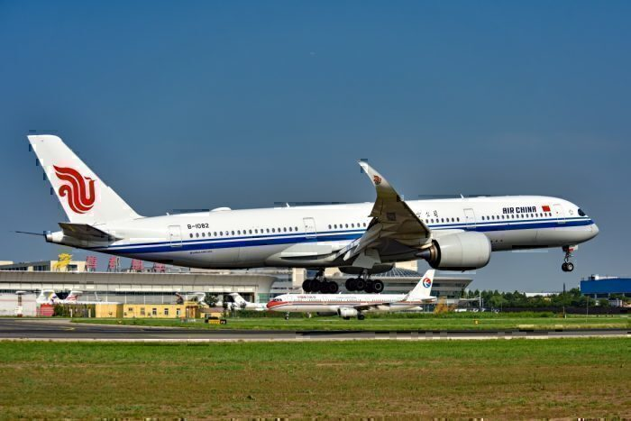 Air China, Airbus A350, London Gatwick